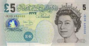 Five Pound Voucher